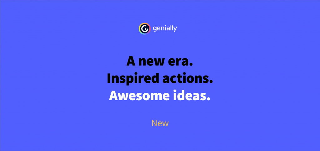 New Look For A New Era: Restyling Genially