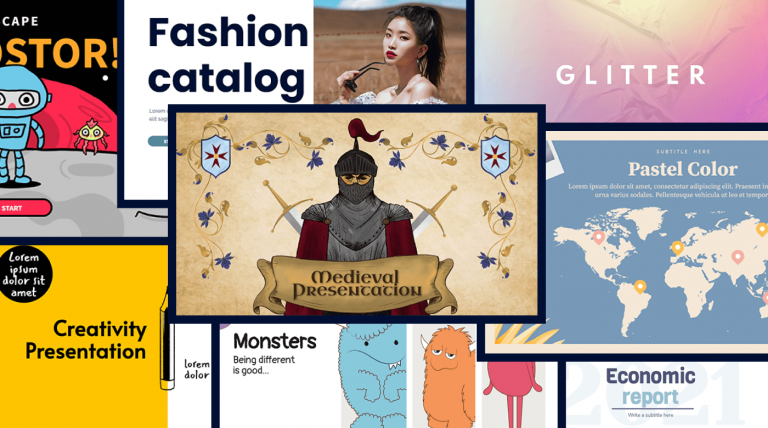 Best april templates in genially